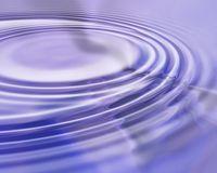 Water. Rippling royalty free illustration
