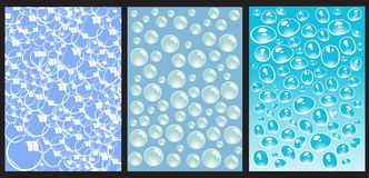 Water. Background templates vector illustration Stock Photography