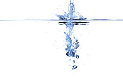 Water abstract. Royalty Free Stock Photo