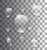 Water Abstract Grey Background royalty-vrije illustratie