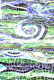 Water Abstract, Mosaic Backgro Stock Photos