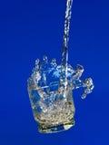 Water in actie Royalty-vrije Stock Afbeeldingen