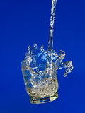 Water in action royalty free stock images