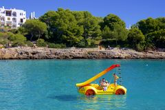 Water activities in Mallorca. Spain Stock Photos