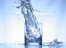 Water in  actoin Stock Photo
