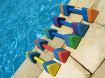 Water aerobics - 1 Royalty Free Stock Images