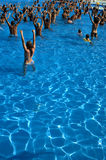 Water aerobics class Royalty Free Stock Photography