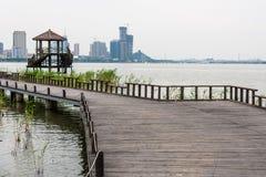 Water affinity platform Stock Photo