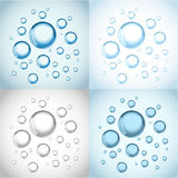 Water with air bubbles Royalty Free Stock Photos