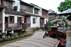 Water alley at suzhou Royalty Free Stock Photo