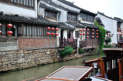 Water alley at suzhou Stock Photo