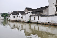 Water alley at suzhou Stock Images