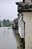 Water alley at suzhou Royalty Free Stock Image
