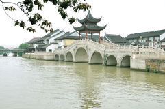Water alley at suzhou Royalty Free Stock Images