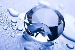 Water & Diamant Royalty-vrije Stock Afbeelding