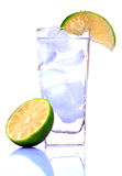 Water And Lime Royalty Free Stock Image