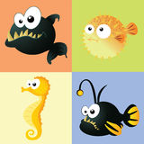 Water animals Royalty Free Stock Photo