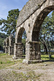 Water arches of Phaselis in Antalya, Turkey Royalty Free Stock Photos
