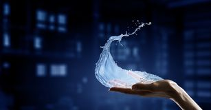Water As Life Source Stock Photography