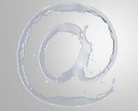 Water At Symbol Royalty Free Stock Images