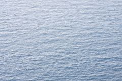 Water background. A calm blue water background Stock Images