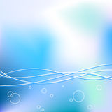 Water background. Light blue water vrctor background vector illustration