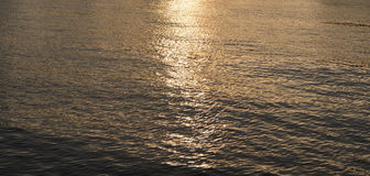 Water background at evening. Stock Photography