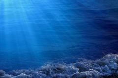Water background image Royalty Free Stock Photos