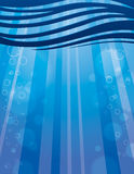 Water Background. An ocean wave water background Royalty Free Stock Image