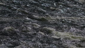 Water background in slow motion stock footage