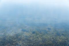 Water background and stones underwater Stock Photo