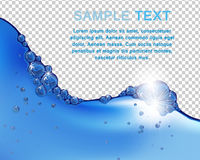 Water Background Royalty Free Stock Photo