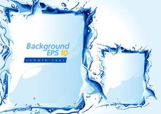 Water background Vector vector illustration