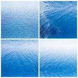 Water background water surface. Abstract background. Ocean water surface texture. Deep sea waves Royalty Free Stock Photography