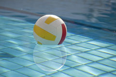 Water ball in swimming pool Stock Image