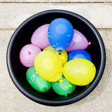 Water balloons Stock Images