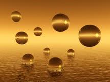 Water_balls ilustração royalty free