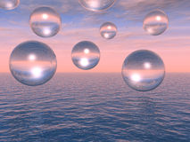 Water balls Royalty Free Stock Photo