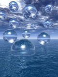Water balls Royalty Free Stock Images