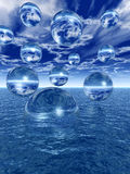 Water balls Royalty Free Stock Image