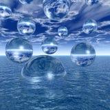 Water balls Royalty Free Stock Photo