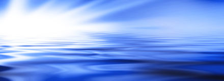Water banner Royalty Free Stock Photos
