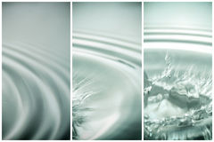 water banners. Royalty Free Stock Images