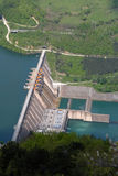 Water barrier dam royalty free stock photos