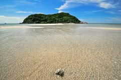 Water Beach in Koh Phangan, Thailand. Stock Photo