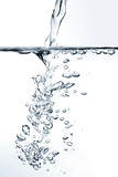 Water being poured Royalty Free Stock Images
