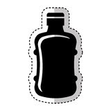 Water big bottle isolated icon Royalty Free Stock Photo