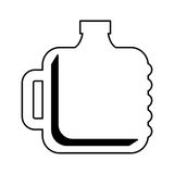 Water big bottle isolated icon Royalty Free Stock Photos