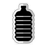 Water big bottle isolated icon Stock Photos