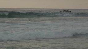 Water bike watercraft stock footage